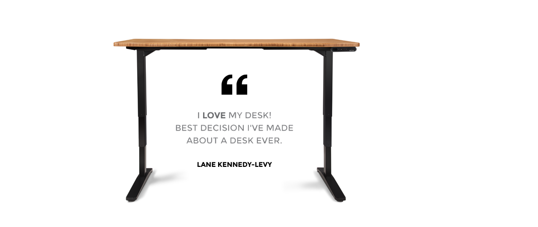 Published reviews of UPLIFT Height Adjustable Standing Desk