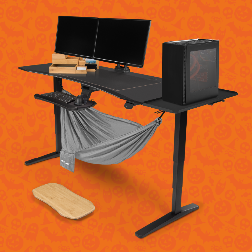 Spooktober Sale Save $408 on a UPLIFT Standing Desk
